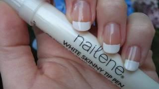 Review And Tutorial: Nailene Skinny French Tip Pen