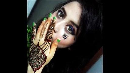 DIY Henna Design: Best and Beautiful Mehndi Design for DIWALI and EID tutorial