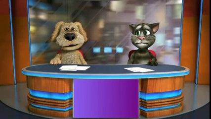 Funny Jokes in Hindi Urdu Talking Tom & Ben News Episode 1 [SD, 854x480]