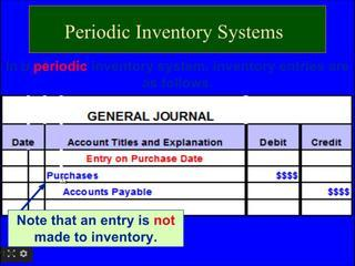 Financial Accounting Online Tutorial 7 | Periodic Inventory System , JIT, FOB, Gross Profit Method,
