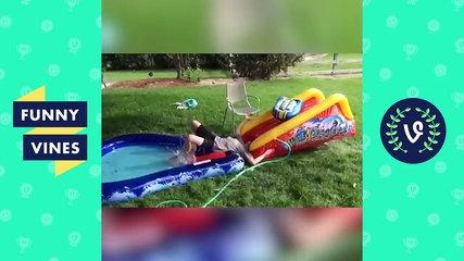 Top WATER SLIDE Fails Compilation - Funny Vines