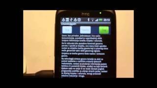 6. Text To Speech - Tekst U Govor - Android - Program Za čitanje Teksta - Hrvatski (test Verzija)