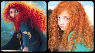 Brave Inspired Hairstyle Tutorial - A CuteGirlsHairstyles Disney Exclusive