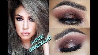 Maquillaje SENCILLO y AHUMADO / Easy Smokey Eye makeup tutorial | auroramakeup