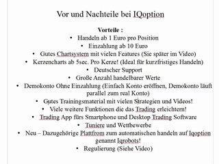 IQ Option Testbericht - Deutsche Strategie & Tutorial