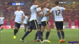 Amazing Volley Goal (Iasmin Latovlevici) Vs. Dinamo Bucharest&Most Bizarre Goal Celebration Ever