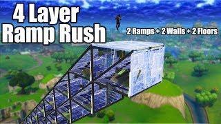 *NEW* 4 Layer Ramp Rush (Tutorial) - Fortnite Battle Royale