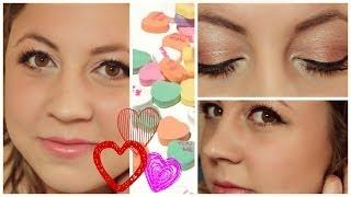 Golden Blush♡  A Valentine's Inspired Makeup Look ♡
