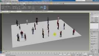 Populate Tutorial In 3dsmax 2014 Thai Part 3