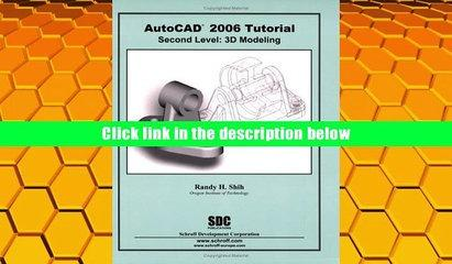PDF  AutoCAD 2006 Tutorial - Second Level: 3D Modeling Randy H. Shih For Ipad
