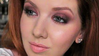 Fall Cranberry Smokey Eye | Drugstore Full Face Tutorial