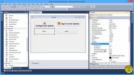 VB.NET Button & ImageList Control Tutorial In Urdu