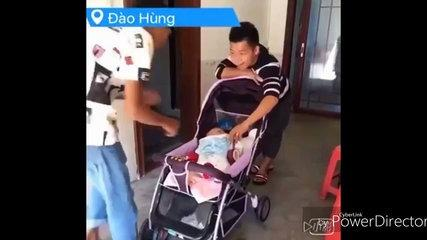 Funny Chinese videos - Prank chinese 2017 can't stop lau