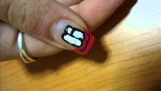 Funny Faces Nail Art Tutorial (romanian Version)