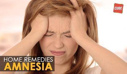 Amnesia - Home Remedies | Health Tips