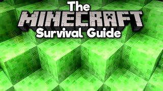 Introduction to Slime Blocks! ▫ The Minecraft Survival Guide (Tutorial Lets Play) [Part 87]