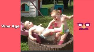 Try Not To Laugh Watching the best Kids Fails Compilation | Funny Videos August 2018 #1 - Vine Age✔