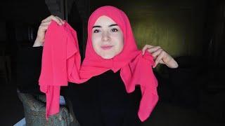 لفات حجاب سهلة | Tutorial Hijab | Part 1
