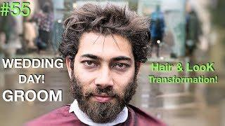 Hair Tutorial | Hair Transformation 2018 (Fun ✰) Groom Day | Best Barber 2018 USA/UAE
