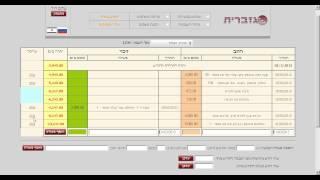 ניהול חשבון בנק   כרטיסי אשראי   עברית
