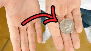 WORLD'S Best COIN TRICK - TUTORIAL | TheRussianGenius