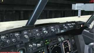 Boening 737-800 Russian Start Up Tutorial. Часть 1