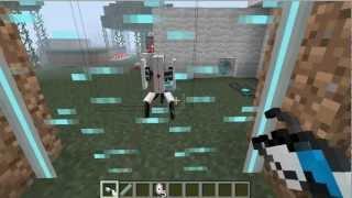 [Tut] Portal Gun Mod Tutorial Minecraft 1.6.4 Deutsch German Mods Test Review Mac Pc Part 2