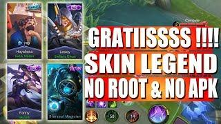 UPDATE TERBARU Tutorial Script Skin EPIC STARLIGHT LEGEND No Root - Mobile Legends Indonesia