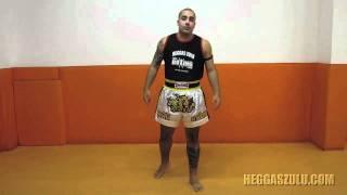 Socos Retos - Vídeo Aula De Muay Thai Com O Mestre Heggas Zulu - 02 [HD]