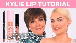 KUWTK | Kylie Jenner Does a Makeup Tutorial on Kris! | E!
