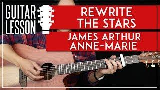 Rewrite The Stars Guitar Tutorial  -The Greatest Showman Guitar Lesson