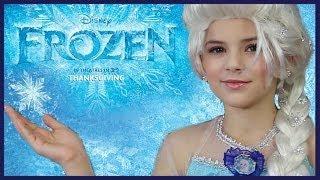 Disney's FROZEN Elsa Makeup Tutorial | KITTIESMAMA