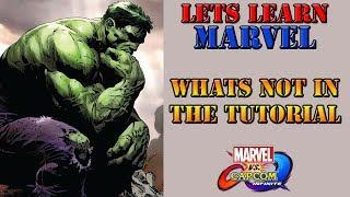 Let's learn Marvel! - Important things the tutorial missed