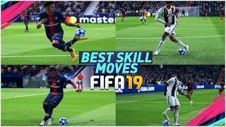 FIFA 19 BEST SKILLS TUTORIAL / MOST EFFECTIVE SKILL MOVES in FIFA 19 / Tricks for PS4 & XBOX ONE