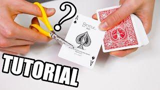 Come TAGLIARE AI 4 ASSI / Tutorial trucco di magia con le carte