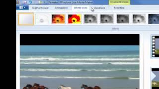 Windows 7 Tutorial Windows Live Movie Maker  Italiano Prima Parte