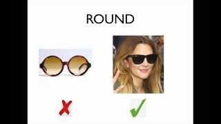 HOW TO CHOOSE THE BEST SUNGLASSES FOR YOUR FACE SHAPE (Part 1)