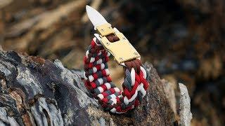 Making The Assassin's Creed Paracord Bracelet | Hidden Blade Buckle Tutorial
