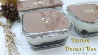 Tutorial Lengkap Durian Dessert Box (Paling Lengkap dan detail) (Low ver)