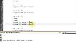 Java SE Tutorial In Arabic - 3 Math Operators