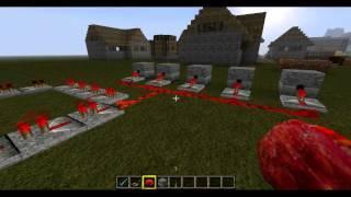 Minecraft Tutorial (deutsch) - Automatisches Feuerwerk
