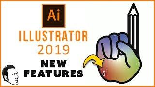 Adobe Illustrator CC 2019 NEW FEATURES Tutorial