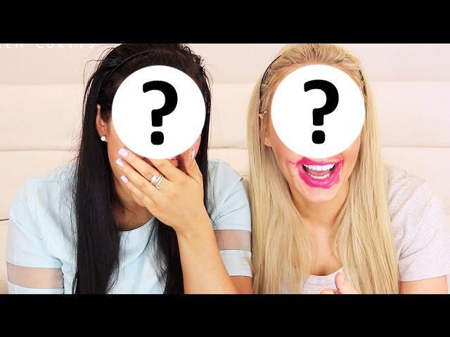 Blindfold Makeup Challenge (AT THE SAME TIME) ft. Grace!