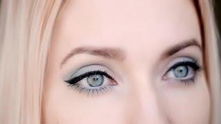 Spring/summer Makeup Tutorial For Blue/green Eyes