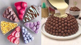 Everyone's Favorite Chocolate Cake Recipe | Satisfying Chocolate Cake Decorating Tutorial
