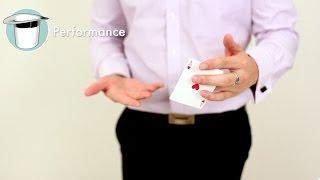 Card Trick Tutorial - The BERTRAM Color Change