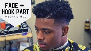 BALD FADE W/ TWISTS ON TOP + HOOK PART: IN DEPTH HD TUTORIAL