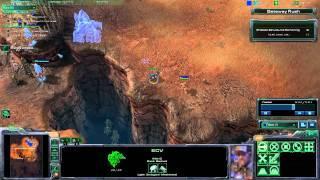 Starcraft 2 Tutorial: Rush Defense (Hebrew)