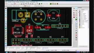 KICAD Tutorial 3 Layout Erstellen [Deutsch]