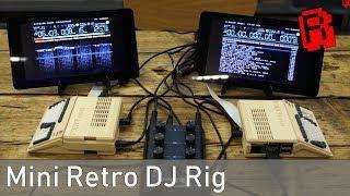 Mini Amiga Retro DJ Rig - A Demo & Setup Tutorial